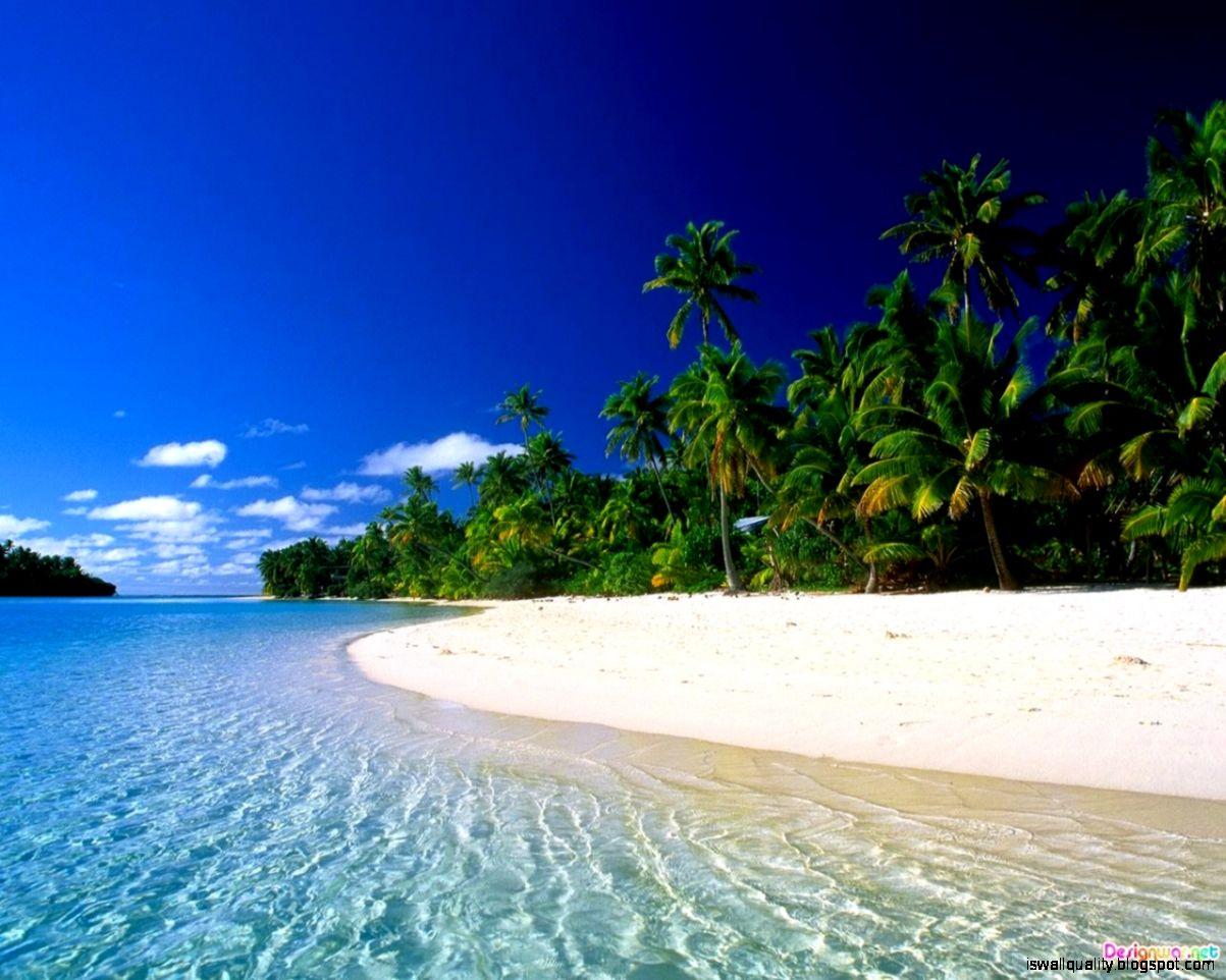beautiful tropical beach hd - photo #2