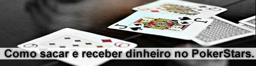 Como sacar e receber dinheiro no PokerStars.