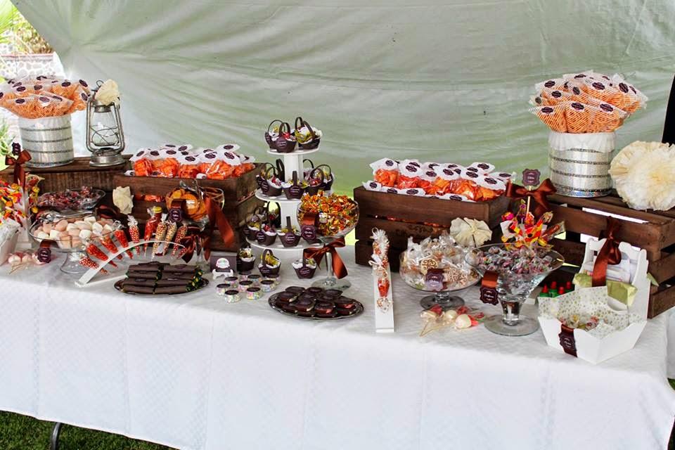 candybar vintage wedding