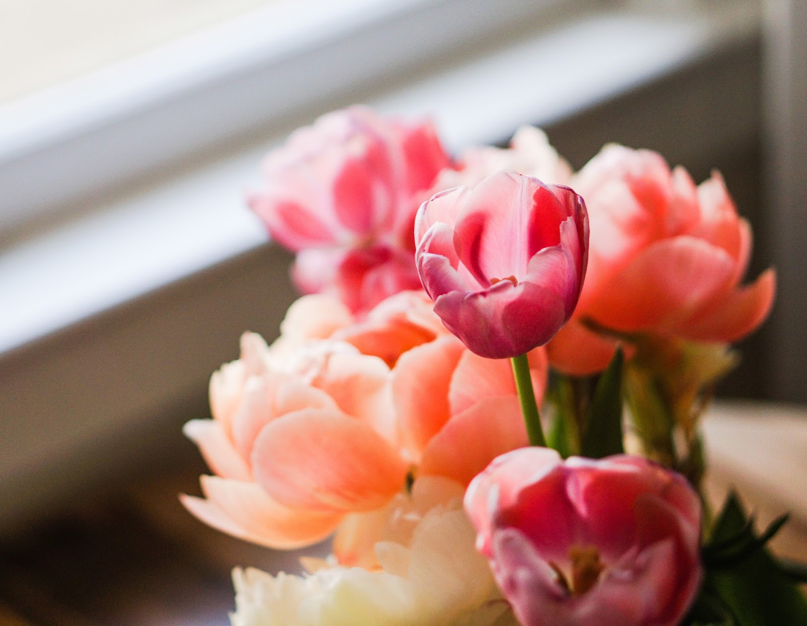 Bunch of flowers - care home decoration