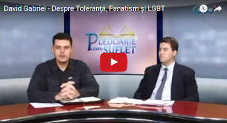 Ten TV: David Gabriel — Despre Toleranță, Fanatism și LGBT