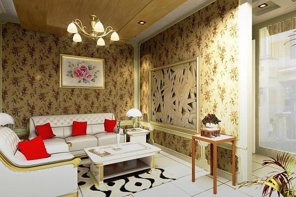 Padahal, anda juga bisa memasang wallpaper sendiri di rumah.