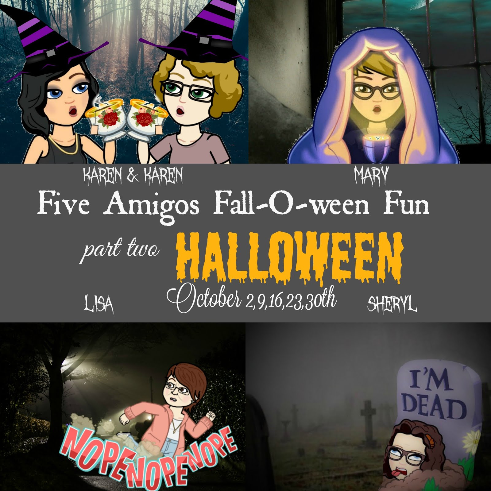 Monday Fall-O-ween Fun Continues in October