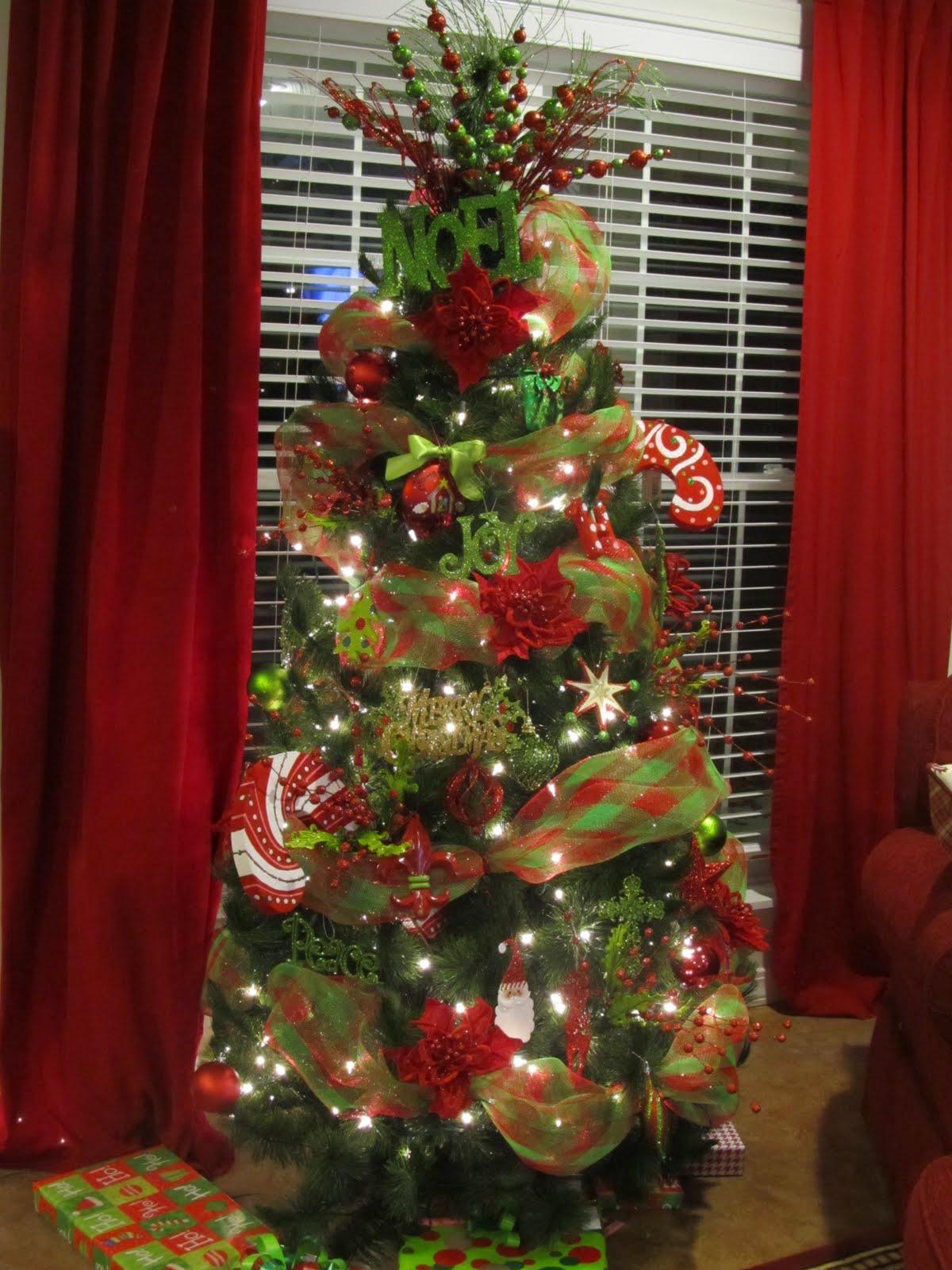 miss janice 2011 parade of christmas trees part 1 - Elf Legs Christmas Decoration
