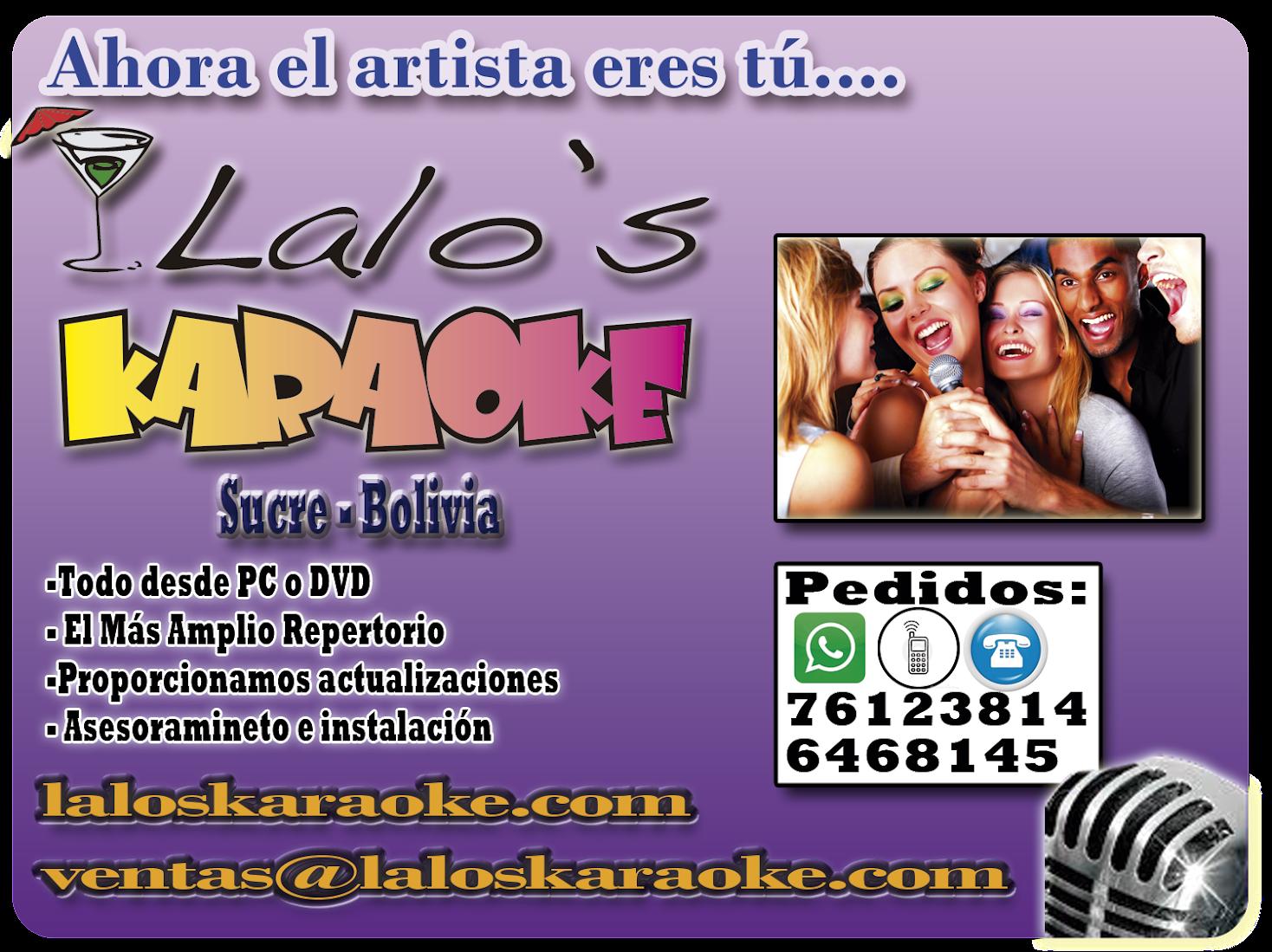 LALO'S KARAOKE