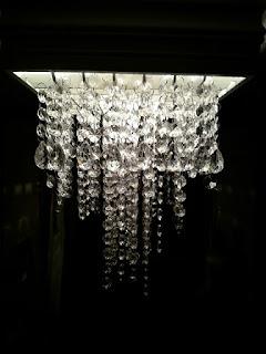 ... : min ferdige gamle ristlampe fra 1992 ble til krystall lampe