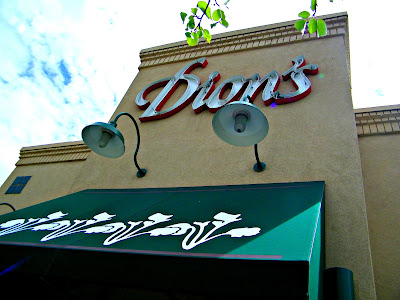 Outside of Dion's Pizza on 4th Street in Albuquerque, New Mexico
