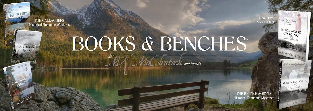 Books and Benches | MK McClintock and Friends