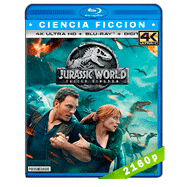 Jurassic World: El reino caído (2018) 4K UHD Audio Dual Latino-Ingles