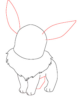 How To Draw Eevee Step 5