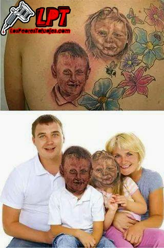 Tatuaje familiar FAIL