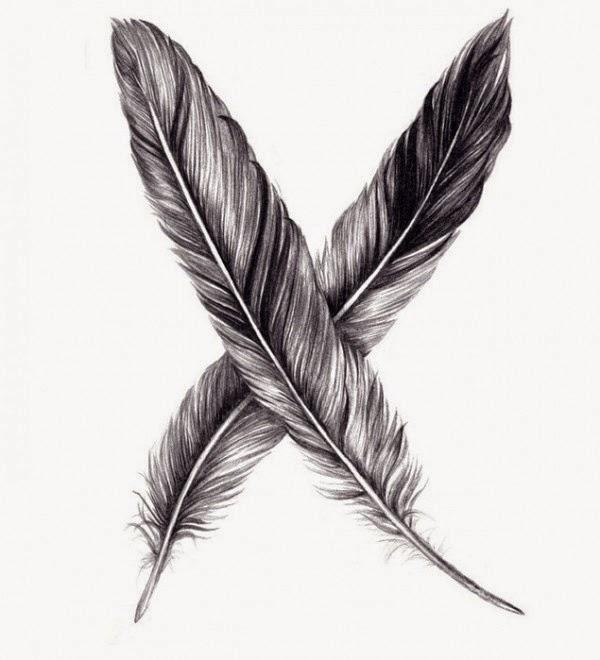 tatuajes de plumas ideas y significado belagoria la