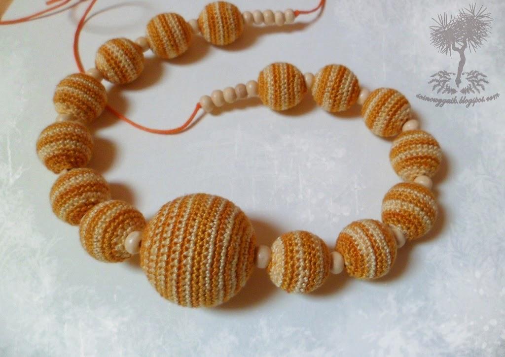 szydełkowe korale
