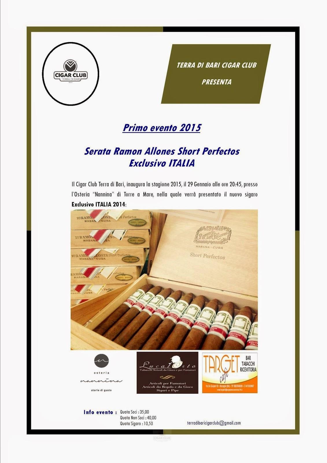 Evento Ramon Allones 2015