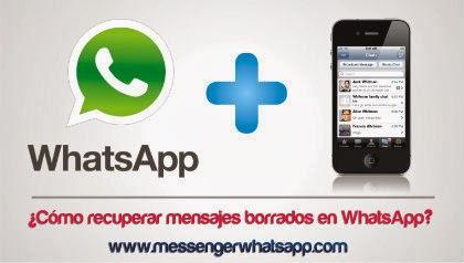 ¿Como recuperar mensajes borrados en WhatsApp?