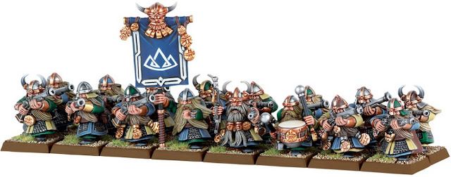 Steadfast Dwarf regiment