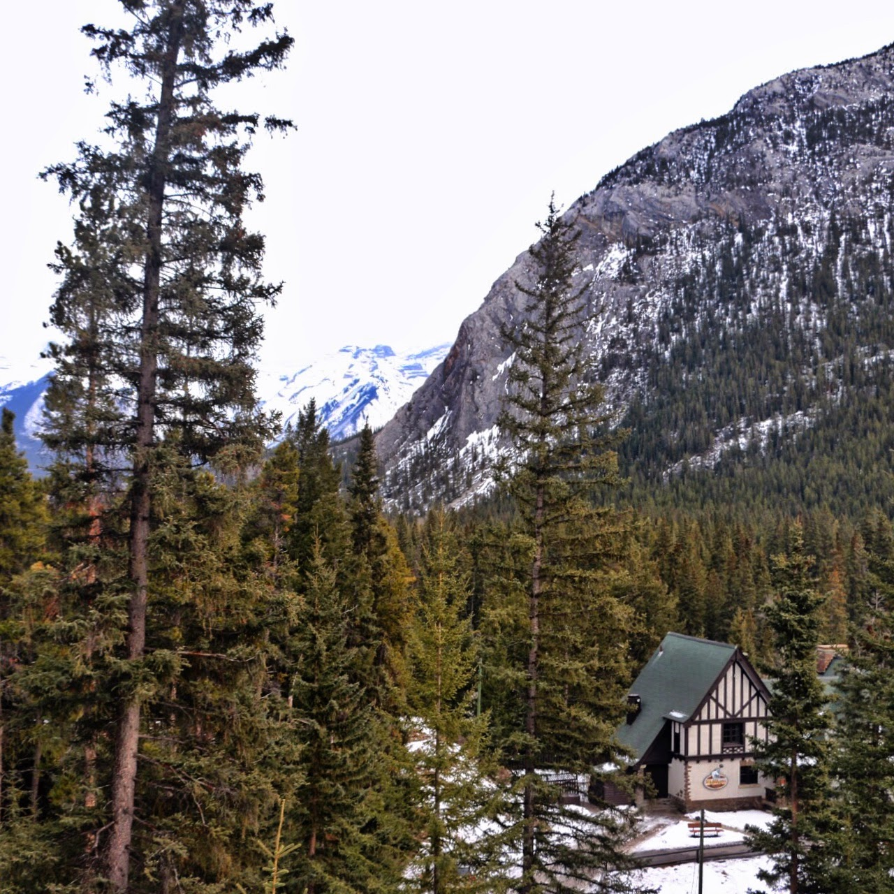 Fairmont Banff Springs in Alberta Canada by Jessica Mack, SweetDivergence