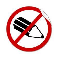 No pencils