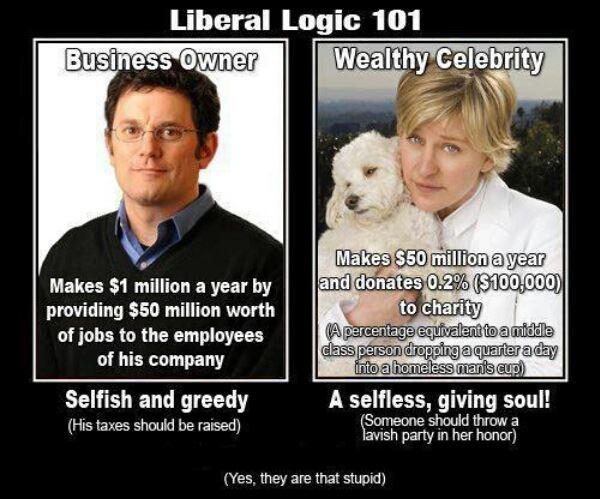 Lost In America Liberal Logic