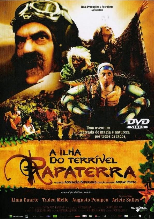 A Ilha do Terrível Rapaterra – Dublado (2006)