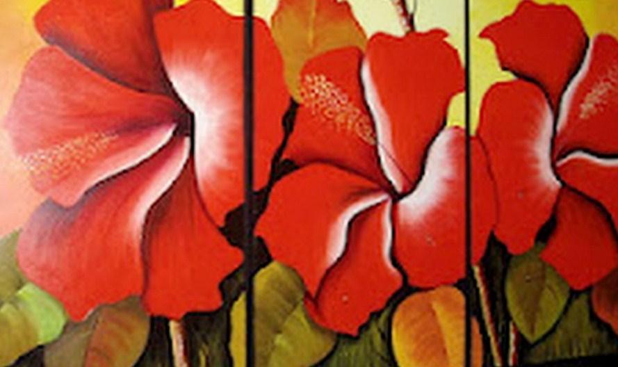 cuadros con flores modernos pinturas modernas con flores cuadros modernos con flores al leo pintura decorativa moderna arte cuadros modernos