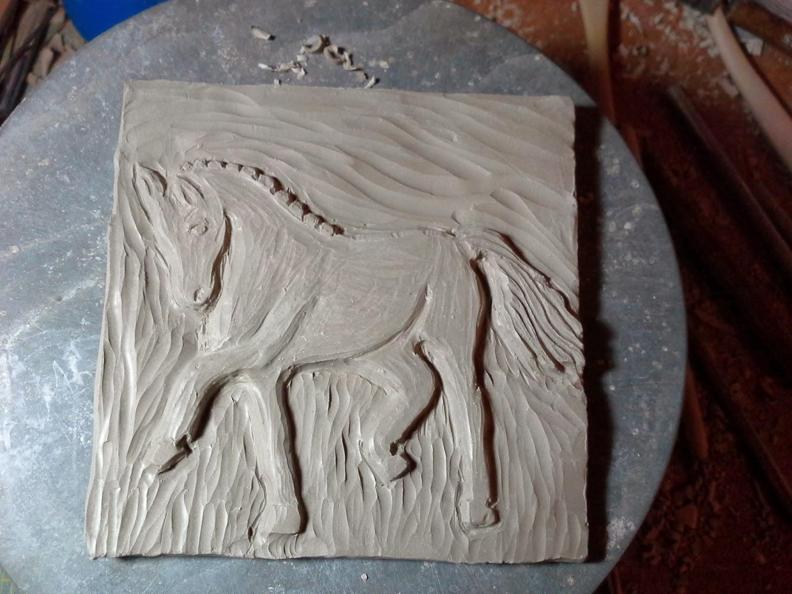 Combat medic to ceramic artist horse treasure box part i