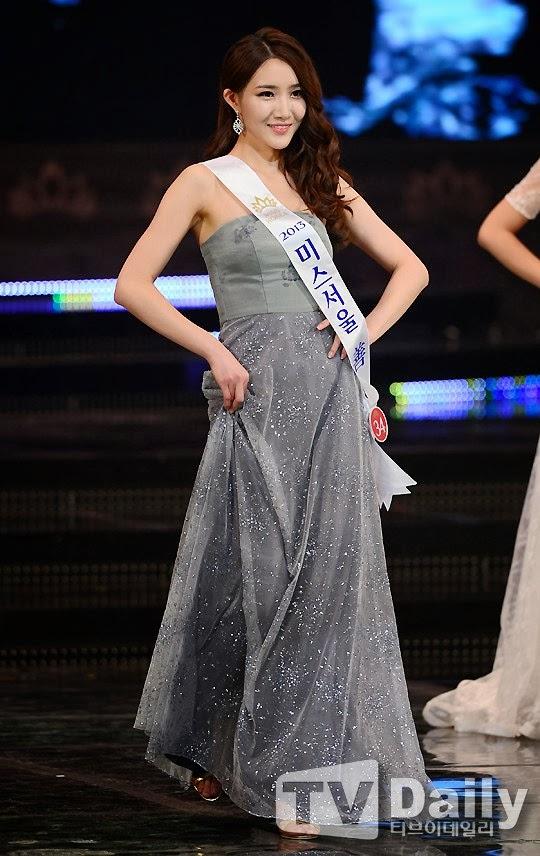 Ngắm các người đẹp tỏa sáng trong đêm chung kết Hoa hậu Hàn Quốc