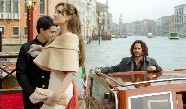 Johnny Depp & Angelina Jolie The tourist