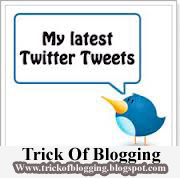Easy Trick To Add Twitter Updates Gadget To Blogspot Blogger