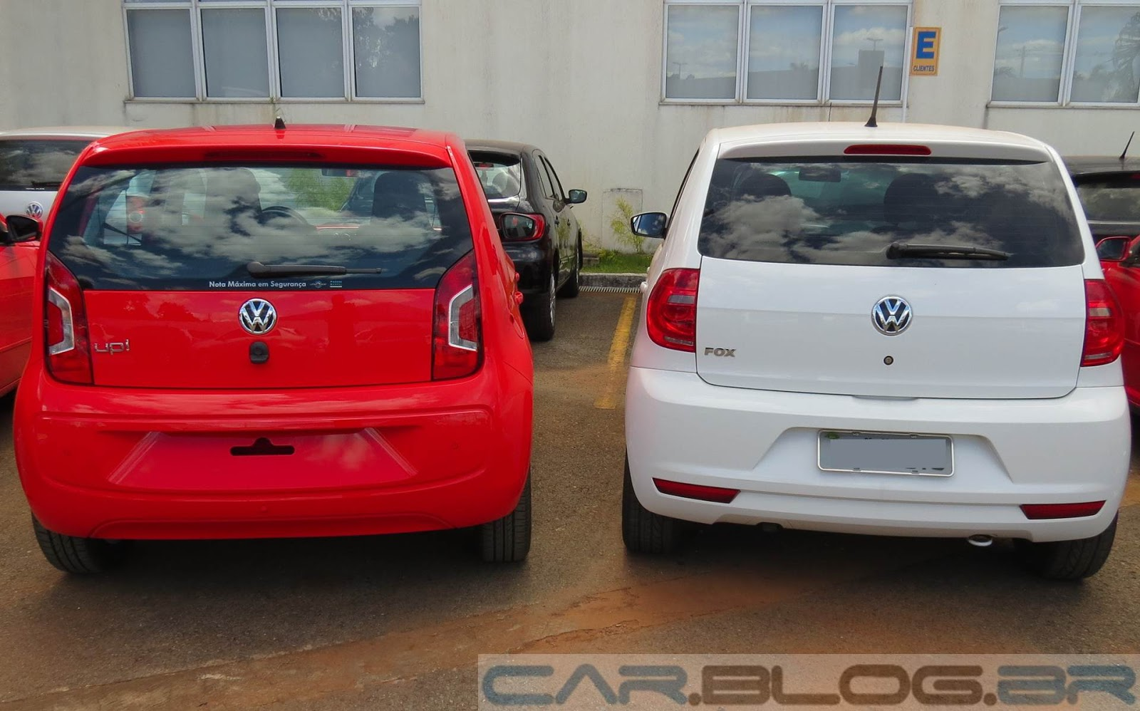 carro Novo Volkswagen up! High-up!