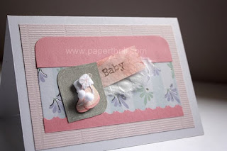 Handmade Baby girl cards for newborn