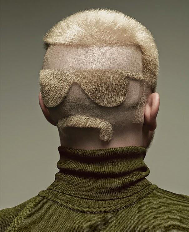 cortes de pelo extraños
