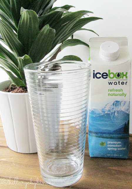 Icebox Water is good for you and the environment.