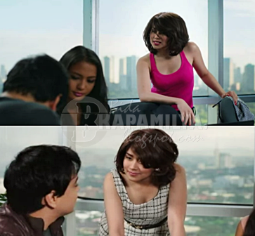 Sarah Geronimo shedding off her conservative image gradually in It Takes A Man and A Woman