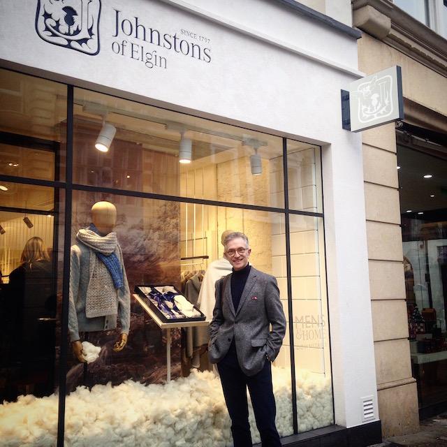 Grey Fox: Johnstons of Elgin opens a store in New Bond Street