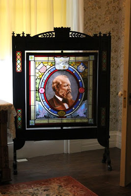 James A. Garfield Lawnfield Home Fireplace Cover