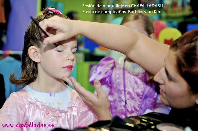 maquillaje de princesas