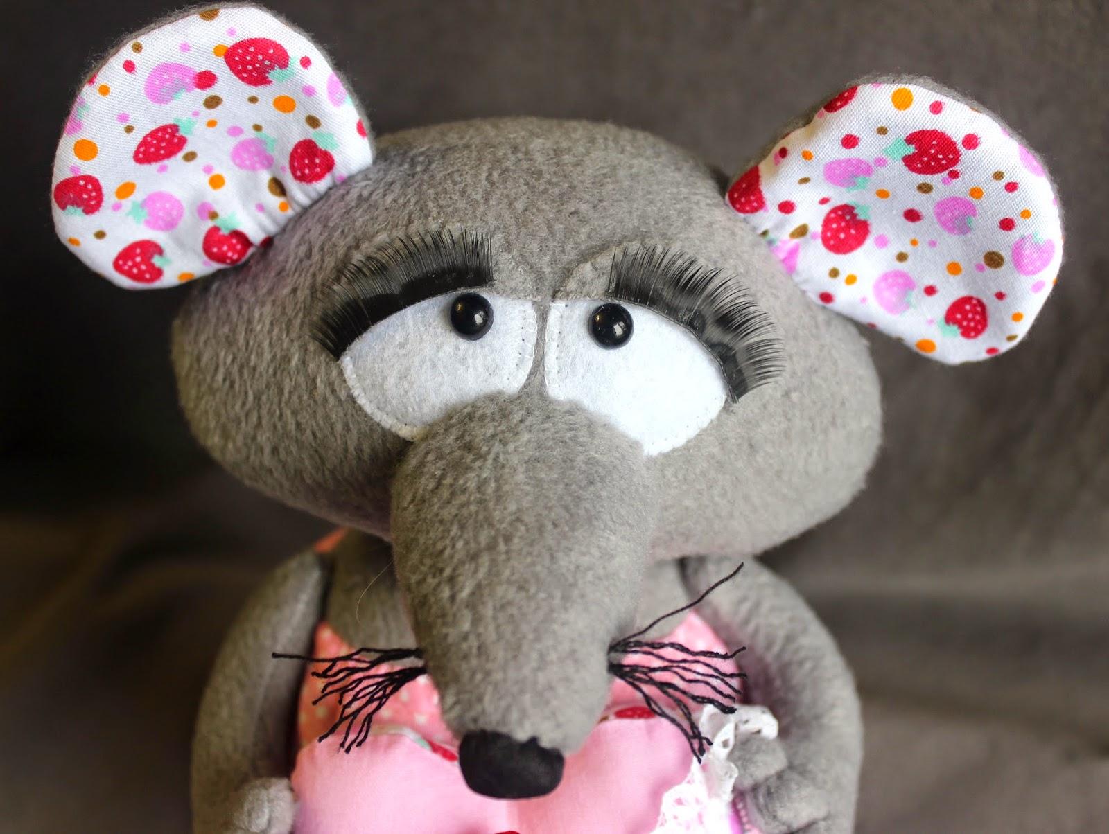 грустная мышка