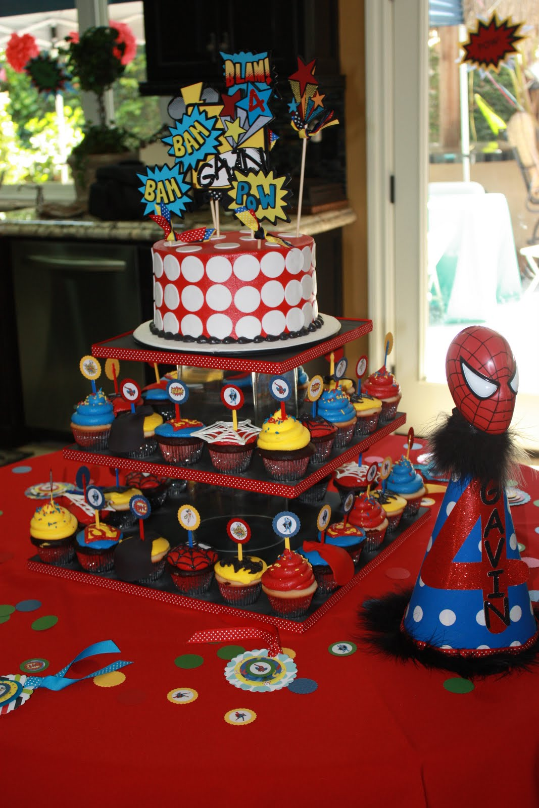 Superhero Decoration Ideas