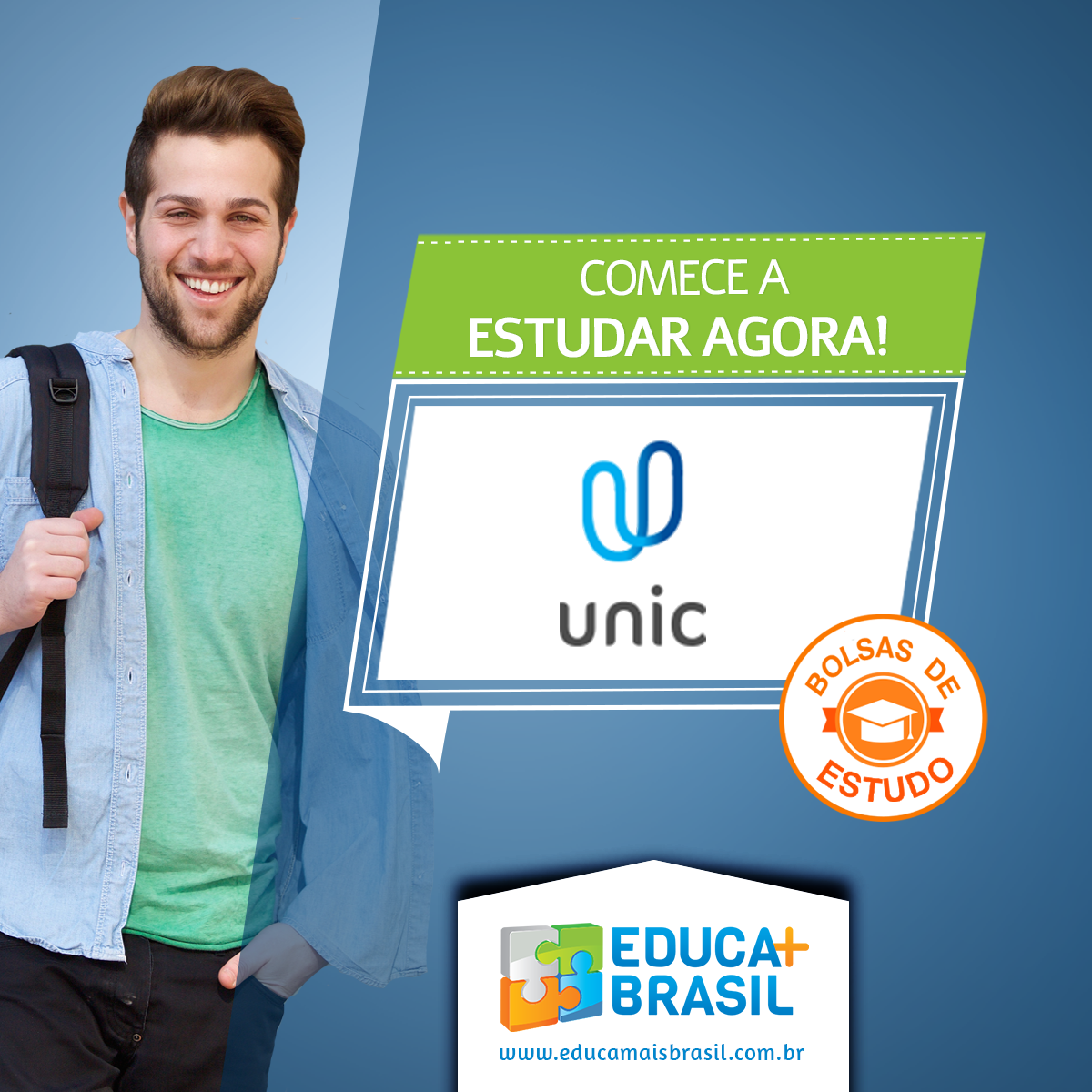 Bolsas de Estudo - UNIC