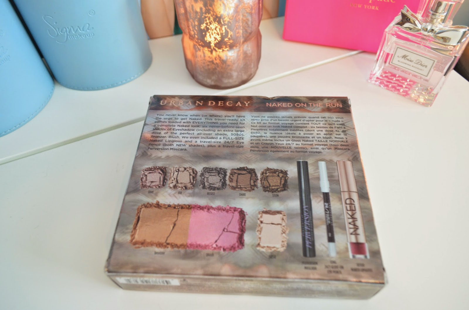 BeautyWithBrittanyXo: Urban Decay NAKED On The Run Palette Review