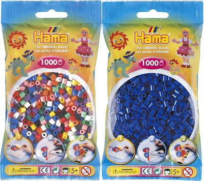 Paquete 1000 piezas Hama Beads tamaño midi