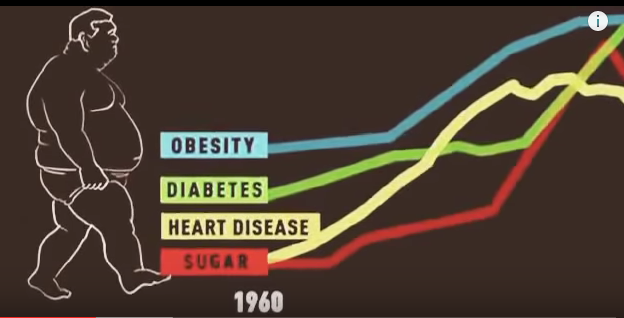 SUGAR=ILLNESS CHART (1960-2010)