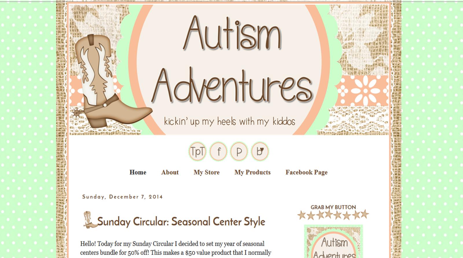 http://adventuresautism.blogspot.com/