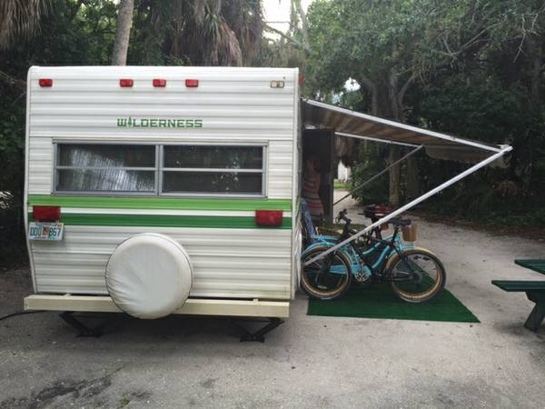 used rvs vintage travel trailer for sale for sale by owner. Black Bedroom Furniture Sets. Home Design Ideas