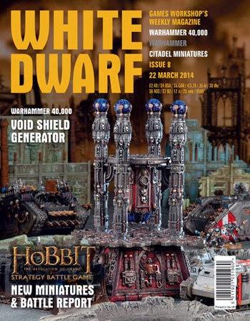 número 8 de la White Dwarf Weekly