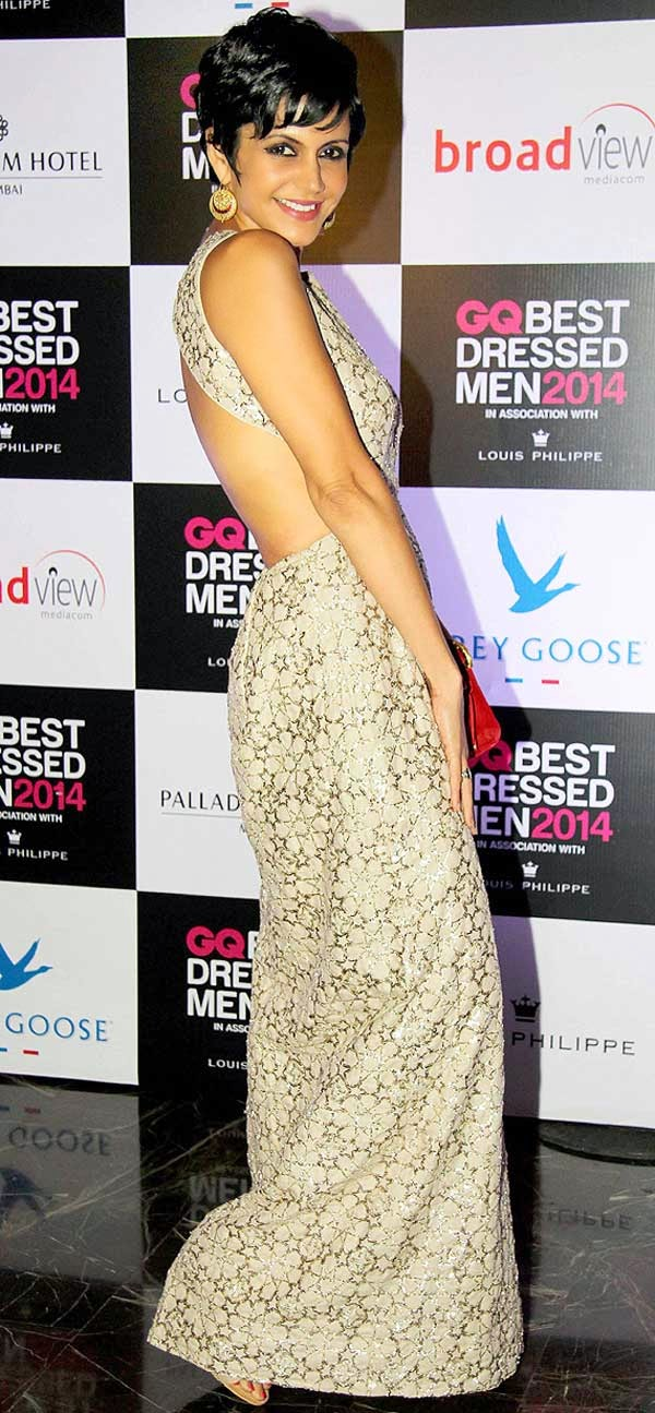 Mandira Bedi At GQ India's Best Dressed Men 2014 Awards