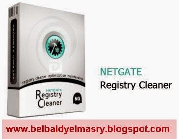 حمل احدث اصدار من برنامج اصلاح الويندوز والريجستيرى وتسريع الجهاز NETGATE Registry Cleaner 6.0.905