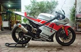 model modifikasi motor yamaha new vixion full fairing