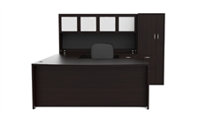 Cherryman Amber Series Desk Configuration